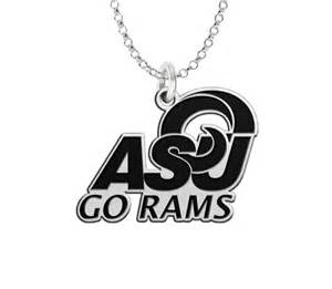 angelo state rams angelo state rams spirit necklace