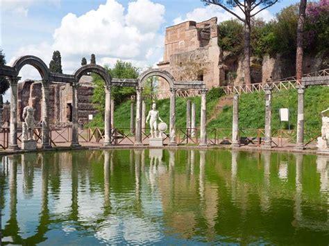 giardini di tivoli roma the emperor s abode hadrian s villa unesco world