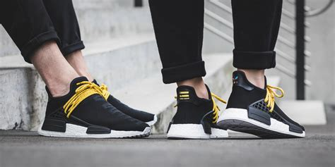 Adidas Nmd Runner X Pharell William Human Species Black 1 pharrell williams x adidas originals nmd human race