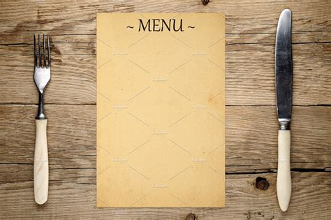 Blank Menu Card Templates by 16 Blank Menu Designs Psd Vector Format
