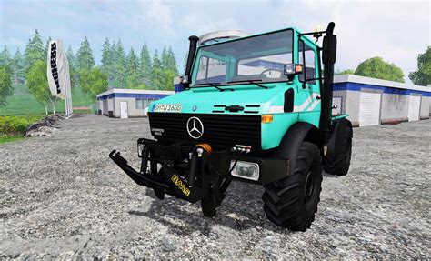 Grow Ls For Sale by Mercedes Unimog U1600 Truck Ls15 Farming Simulator