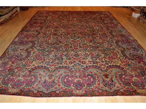 authentic rug authentic floral kerman rug elegantorientalrugs