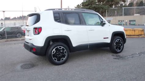 white jeep renegade 2017 jeep renegade trailhawk hpe40008 alpine white