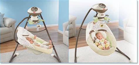 snugabunny baby swing com fisher price cradle n swing my little