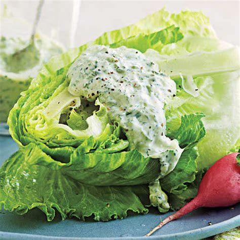 cooking light salad dressing four herb green goddess dressing salad dressing