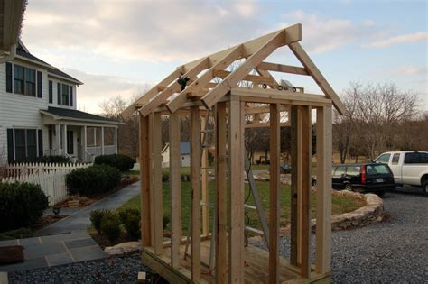 Pre Made Shed Trusses by Outcrop Acres Portable Shed