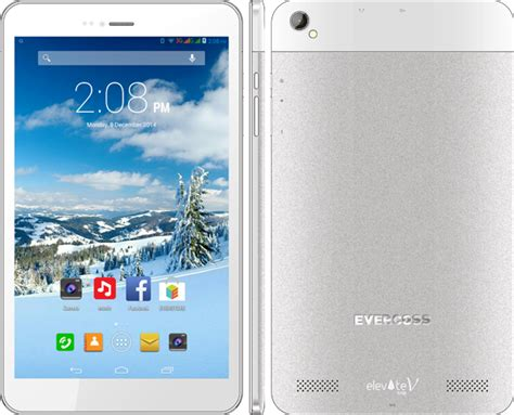 Tablet Android Evercros evercross elevate tab v tablet 8 inci ram 1g kamera 8 mp belakang 5 mp depan terbaru 2018