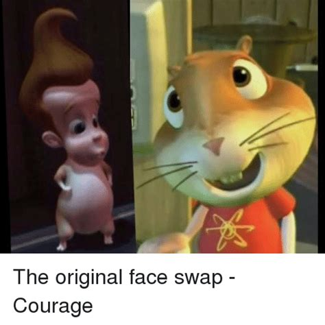 Face Switch Meme - the original face swap courage face swap meme on sizzle