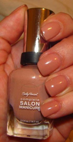 lipstick and lattes sally hansen brush on sally hansen complete salon manicure in choco latte