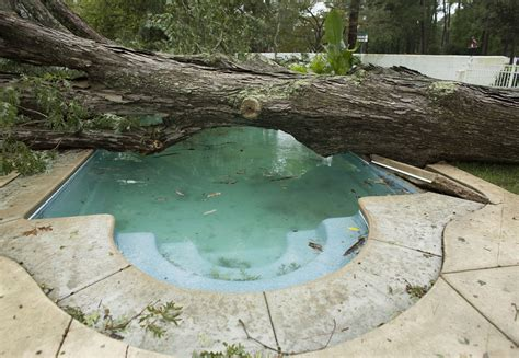 pool after c section aftermath of hurricane matthew