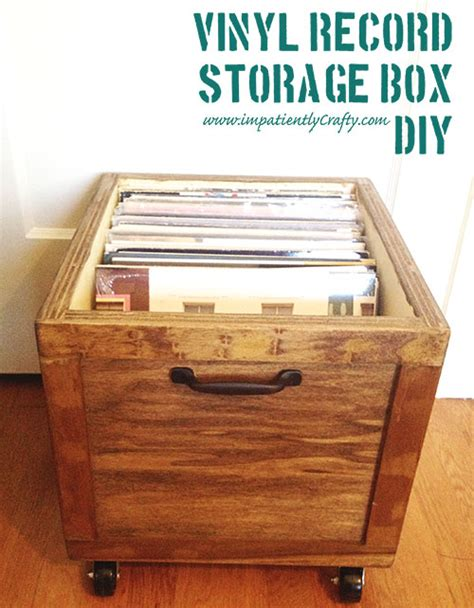 Which Are The Most Popular Size Vinyl Records - white diy lp vinyl record storage box with wheels