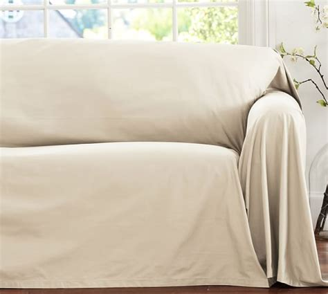Drop Cloth Cover by Dropcloth Fit Slipcover Twill Pottery Barn