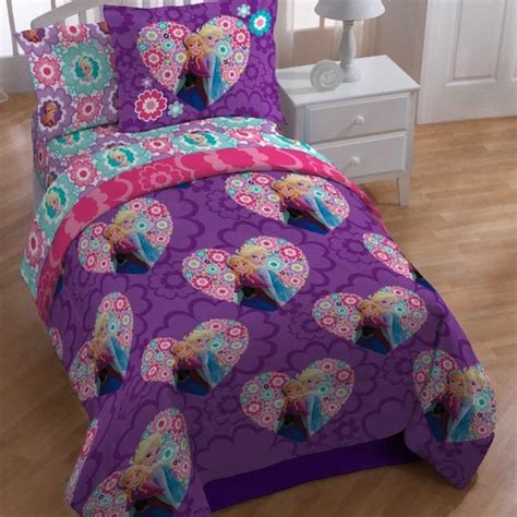 frozen bed in a bag disney frozen floral twin 4 piece bed in a bag set