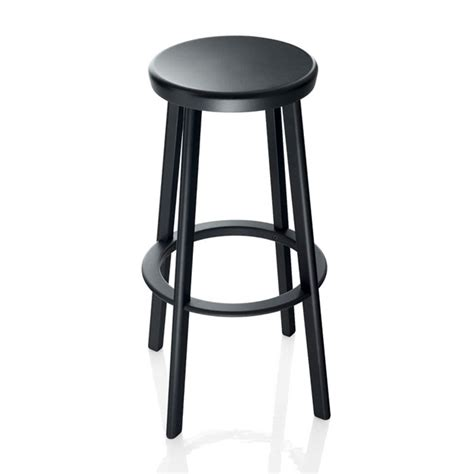 magis deja vu high bar stool black panik design