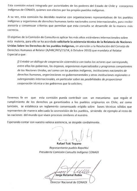 carta dirigida al relator anaya solicitando asistencia t 233 cnica para proceso de consulta