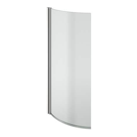 1675mm shower bath evesham right handed p shaped shower bath 1675mm with 5mm