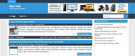 membuat blog menu cara membuat menu blog keren images