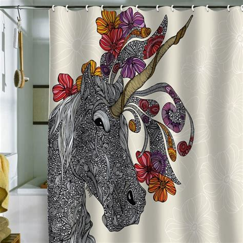 Unicorn Shower Curtain by Pin By Marshall On Decorate