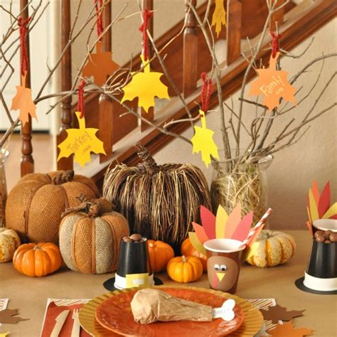 easy centerpieces for thanksgiving table thanksgiving table decorations for kids to make