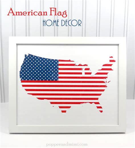 american flag home decor pebbles inc