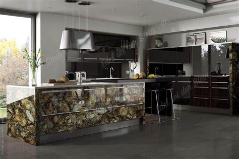 luxus küche minimalisti design leuchten