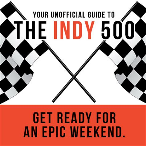 Mcdreamy Starts Our Engines At The Indy 500 by Sunglass Warehouse Unofficial Indianapolis 500 Guide