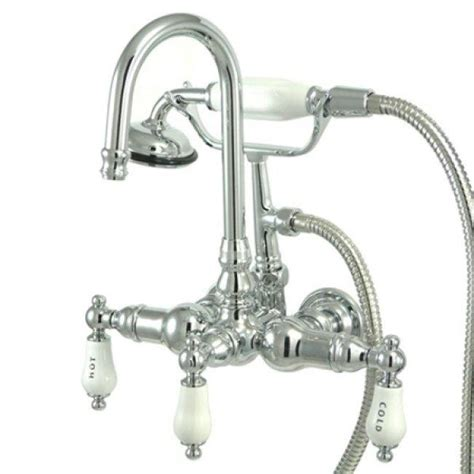 Clawfoot Tub Faucet by Americana Wall Mount Chrome Clawfoot Tub Faucet