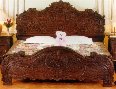 indian bed manuel wood crafts