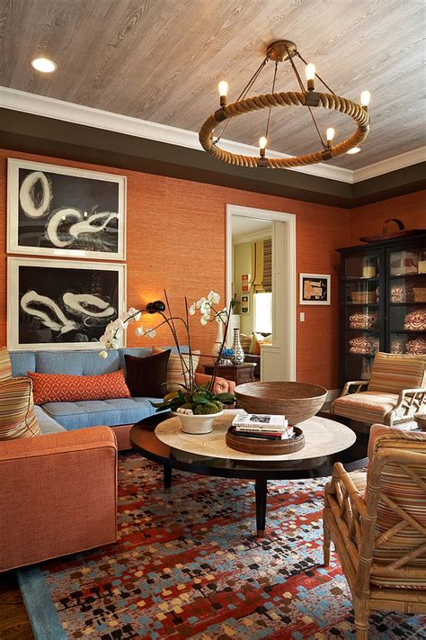 take a picture of a room and design it app 20 living rooms with the textural of grasscloth