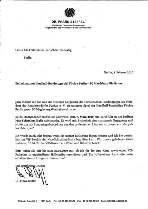 Muster Einladung Pressekonferenz Frank Steffel Und Das Doppelte Heimspiel Sport Politics