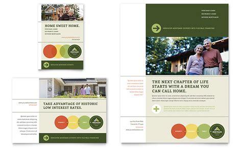 mortgage broker flyer ad template design