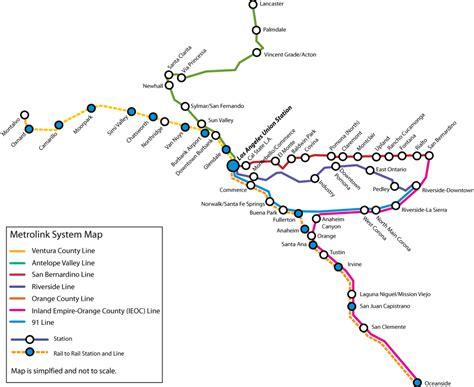 list  metrolink california stations wikipedia