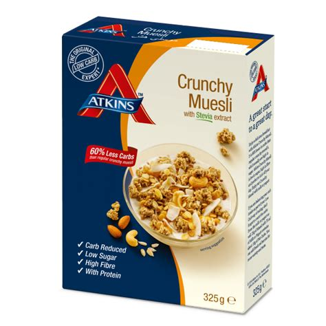 Kolln Muesli Crunchy Honey Nut Oat crunchy muesli atkins low carb diet