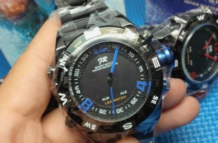 Jam Tangan Fortuner Ja864 Original Tahan Air Bisa Buar Berenang 1 fortuner wh2310 stainless led delta jam tangan