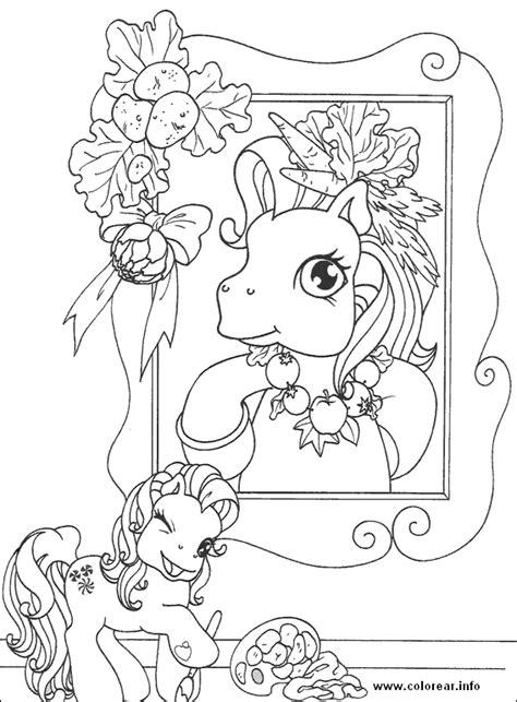 Petit Poney #270 (Dessins Animés) – Coloriages à imprimer