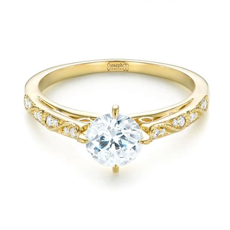 vintage inspired engagement ring 103294