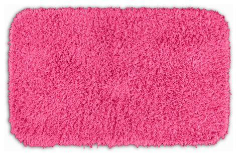 Quincy Super Shaggy Pink Washable 24x40 Bath Rug Pink Bathroom Rugs And Mats