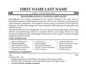 Freight Specialist Cover Letter by Click Here To This Transportation Logistics Specialist Resume Template Http Www