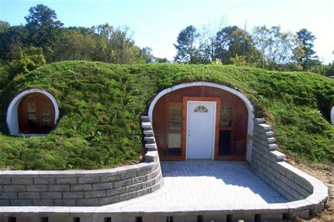 You can now buy pre fabricated Hobbit homes to live in