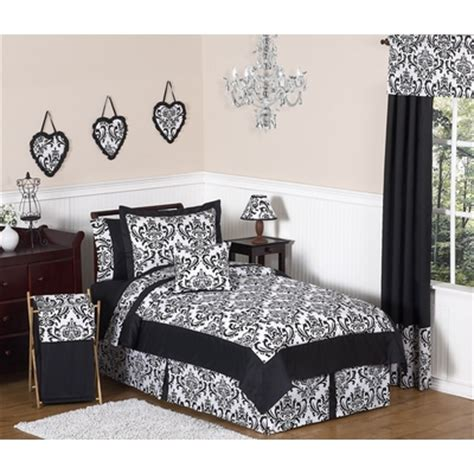 black and white twin comforters isabella black and white 4pc twin comforter set