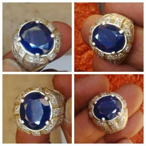 Batu Permata Blue Safir Afrika Ukuran Kecil batu permata blue safir afrika jual batu permata batu akik perhiasan perak kiswanz bali