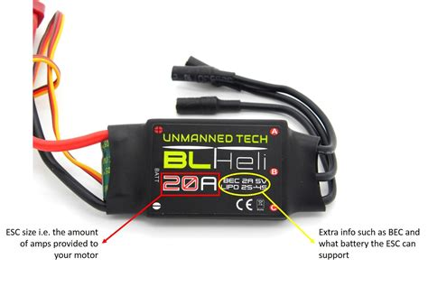 Esc Drone what to consider when buying a esc for your multirotor