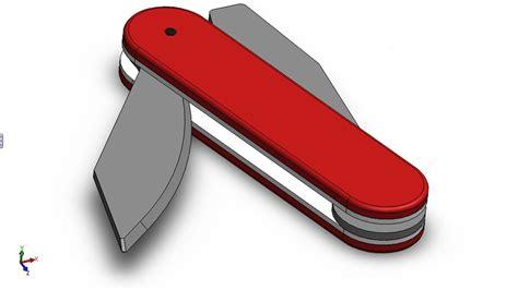 solidworks tutorial knife solidworks p tutorial 62 pocket knife detailed pt2 2