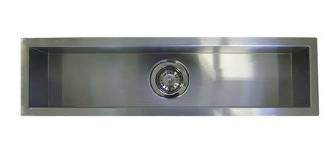 undermount trough sink 42 quot stainless steel undermount kitchen trough bar sink