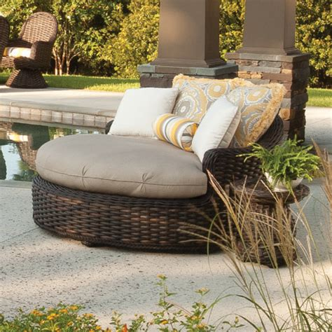 round outdoor chaise lounge cushions round outdoor chaise lounge orbit lounger replacement