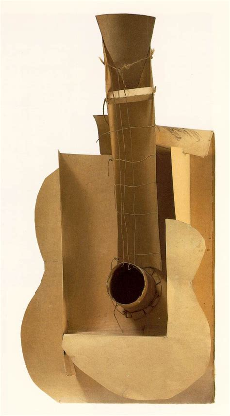 pablo picasso paintings guitar artblog picasso and negative space the guitars