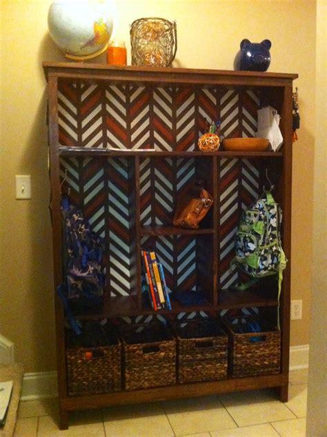 ana white   school locker shelf diy projects