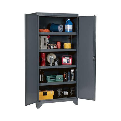 Heavy Duty Storage Cabinets Edsal Heavy Duty Storage Cabinet 36in W X 24in D X 78in H Model Ehd7836 Storage