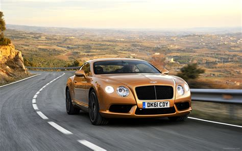gold bentley wallpaper bentley continental gt v8 2012 widescreen exotic car