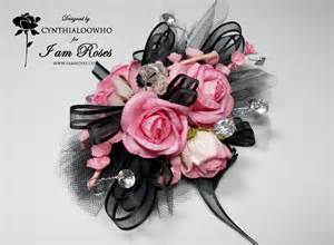 and black corsage cynthialoowho corsage boutonniere